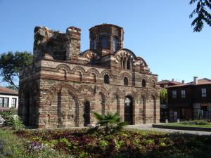 Byzantská architektura v Nesebaru